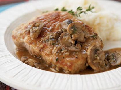 Pork Chops Marsala