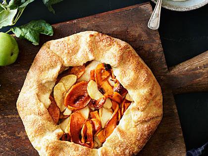 Apple Pumpkin Galette