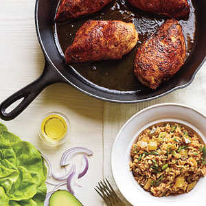 How to Cook Blackened Chicken with Dirty Rice