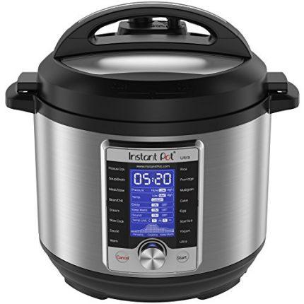 Instant Pot Ultra 6 Qt 10-in-1 Multi- Use Programm...