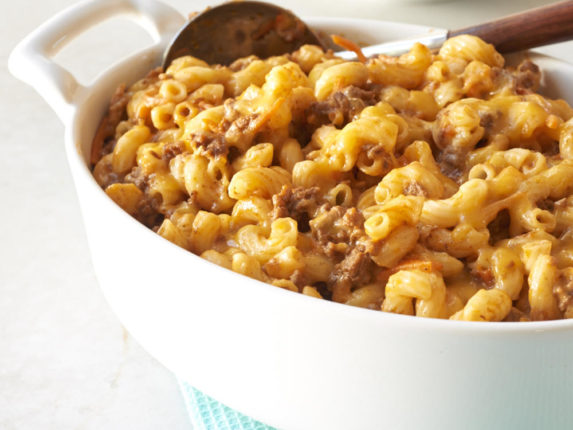 Beef, Cheese, and Noodle Bake Recipe