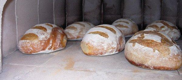 pain cuit avec buée