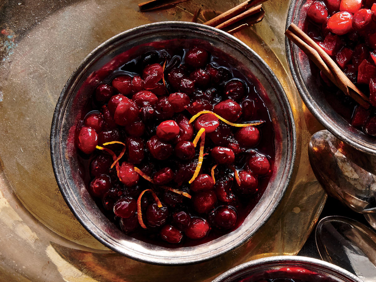 Grand Marnier Cranberry Sauce