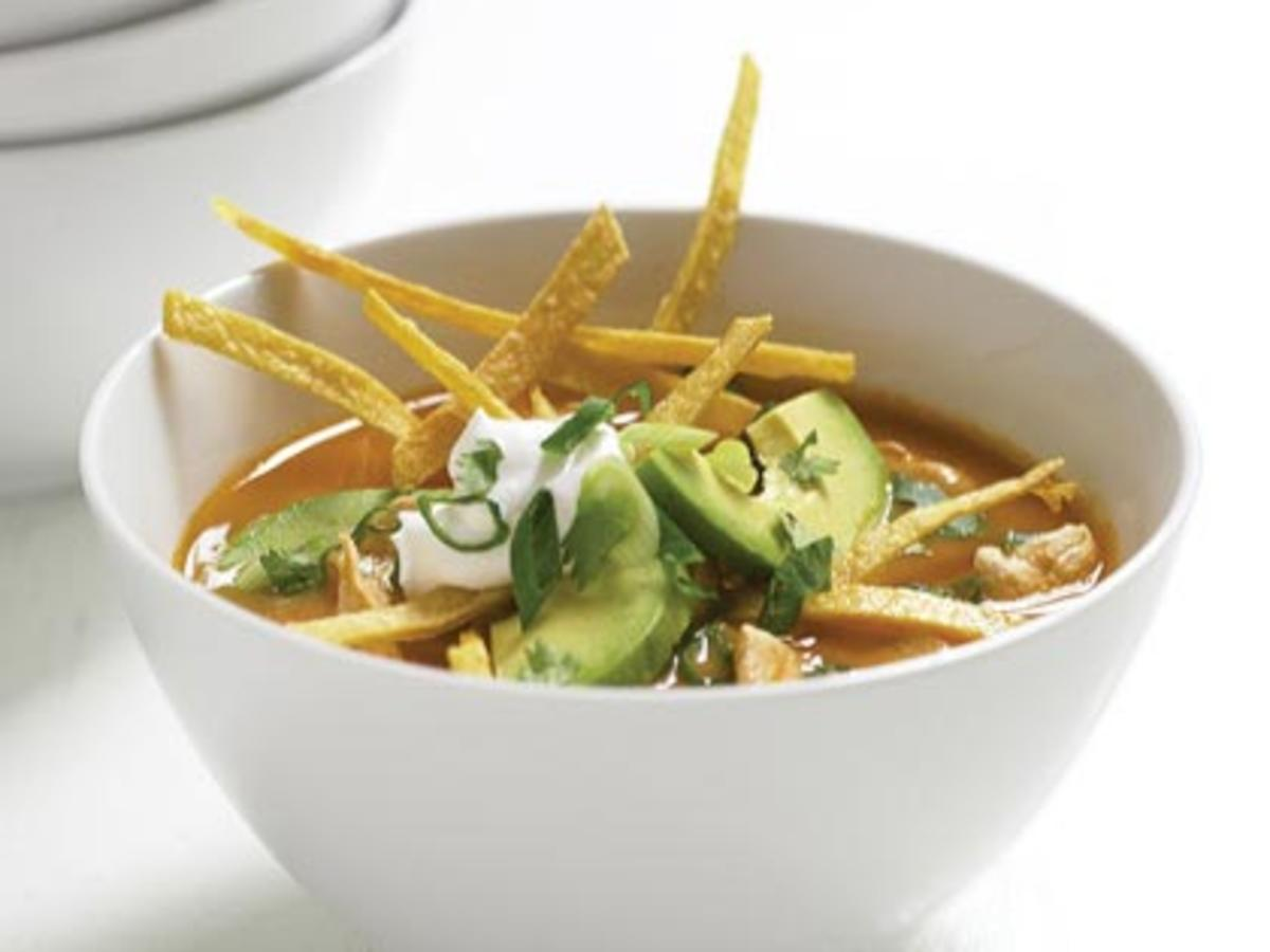Tortilla Soup, chicken tortilla soup recipe