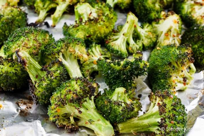 Roasted Garlic Broccoli make