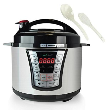 8 in 1 Electric Programmable  Pressure Cooker & St...