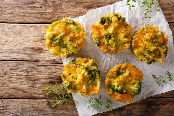 These Turkey Quiche Muffins with Broccoli for breakfast and meal prep in this week