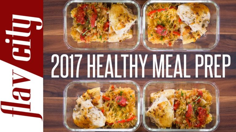 Clean Eating Meal Prep For 2017 - New Year Resolut...