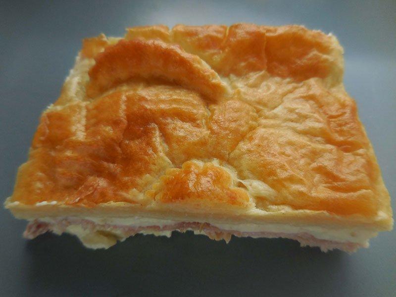 Ham friand pie