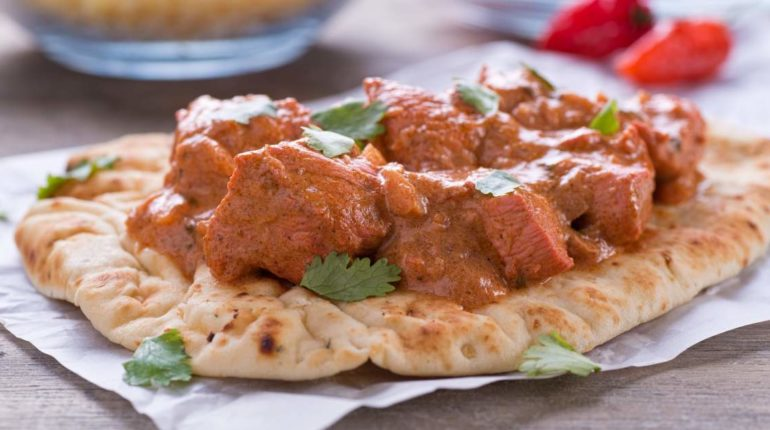 Slow Cooker Butter Chicken - Slender Kitchen
