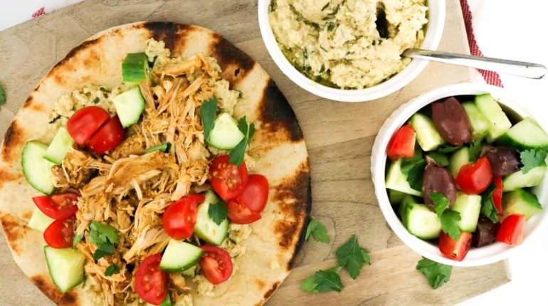 Chicken Shawarma (Slow Cooker, Instant Pot, or Gri...
