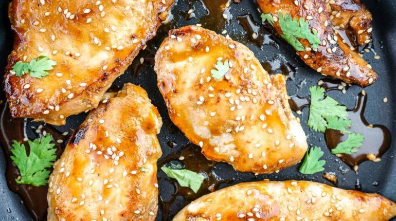 Honey Soy Glazed Chicken - Slender Kitchen