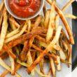 Crispy Turnip Fries - Slender Kitchen